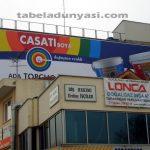 casati boya çatı tabelası