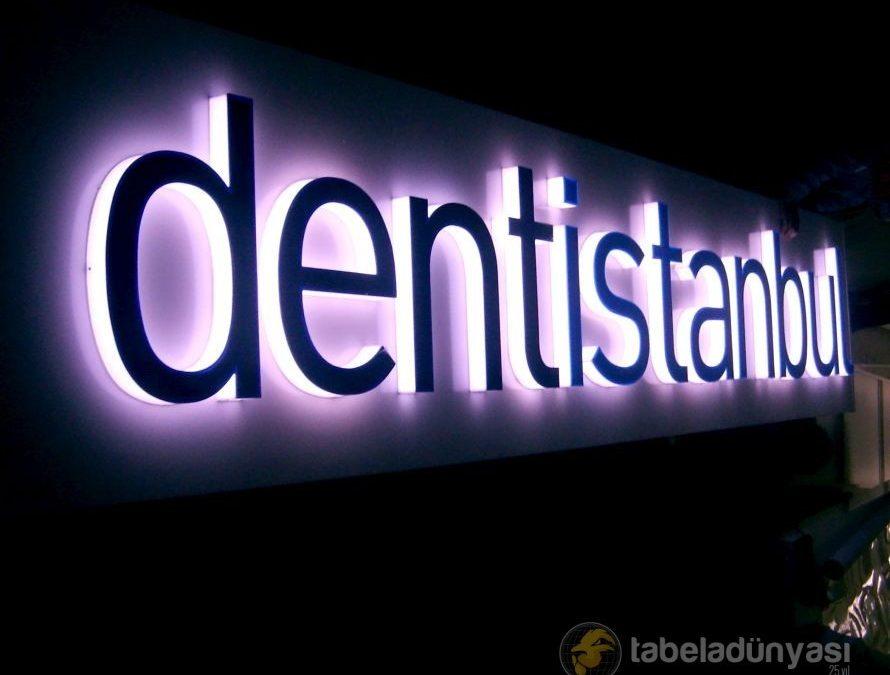 Dentistanbul Kutu Harf Tabela