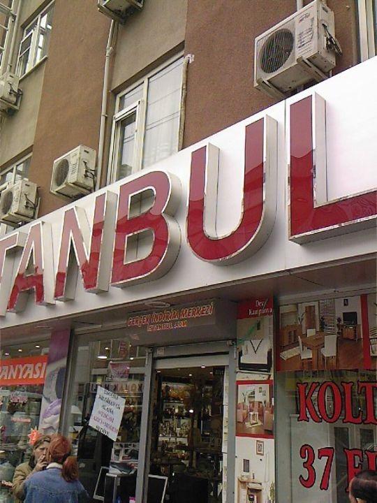 İstanbul Avm Kutu Harf Tabela