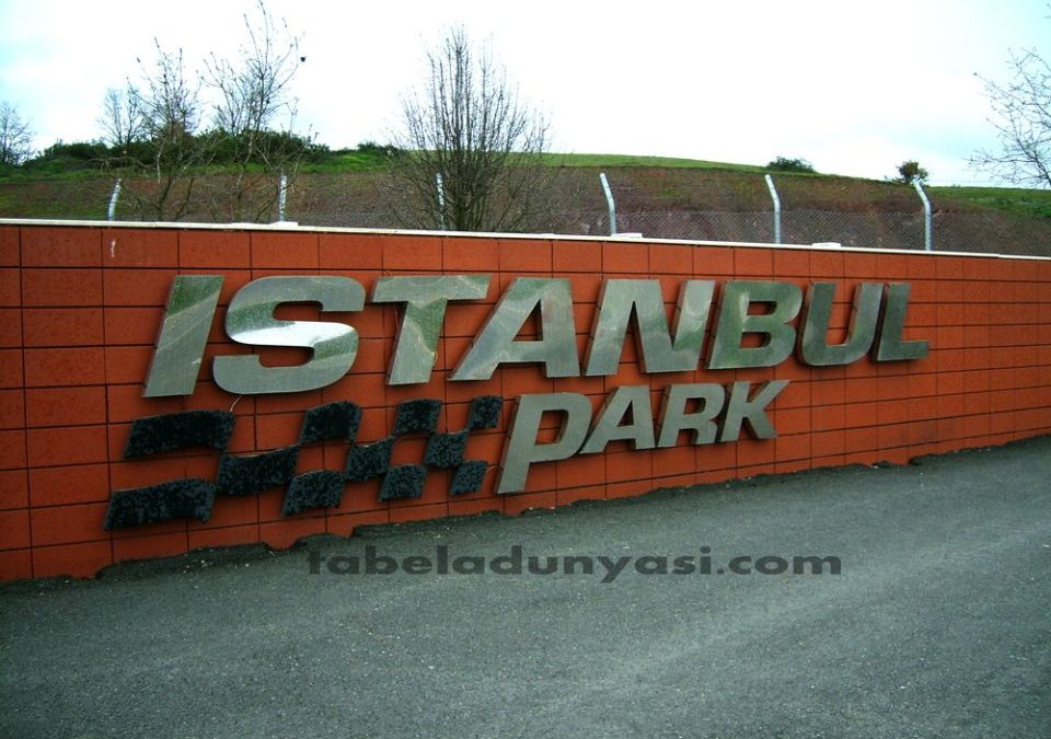 İstanbul Park Kutu Harf Tabela