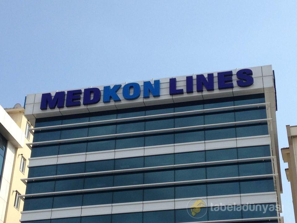 Medkon Lines Çatı Tabela