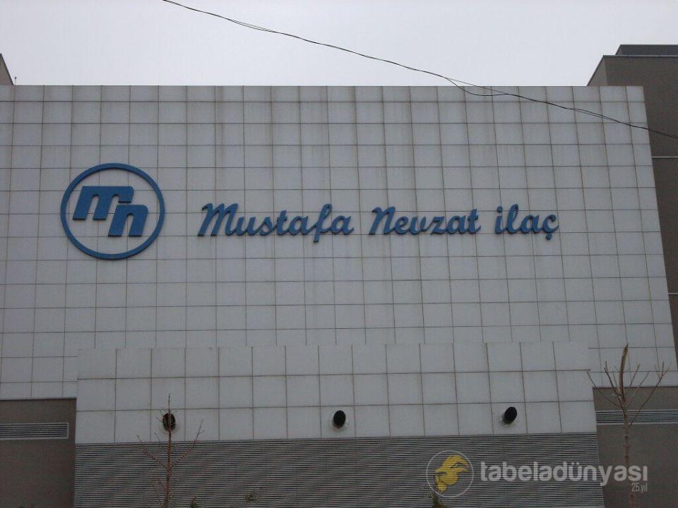 Mustafa Nevzat İlaç Çatı Tabela