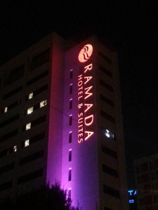 Ramada Hotel Çatı Tabela