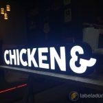 Semt Chicken rotisserie