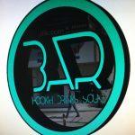 Bar Isıklı Kutu Harf Tabela