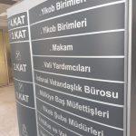 Istanbul Il Valılıgı Ayaklı Tek Taraflı Yonledırme Montaj