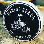 Marıne Beach Hazır Tabela