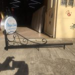 Meydan Balıkcı Ferforje Cıft Taraflı Isıklı Elıps Hazır Tabela Imalat