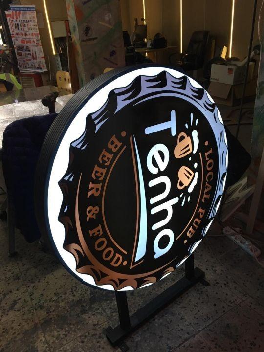 Tenha beer food Isıklı Hazır Tabela Uretım