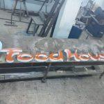 Alaaddın Kebap House Almanya Led aydınlatma Pleksı Kutu Harf Tabela
