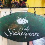 Caffe Shakespeare Eskıtme Ferforje Tabela