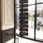 Hılton Istanbul Sıslı Bomantı Otel Ayaklı Yönlendırme Montaj
