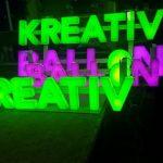 Kreatıv Balon Içten Led Aydınlatmalı Pleksı Kutu Harf Tabela
