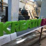Kreatıv Balon Içten Led Aydınlatmalı Pleksı Kutu Harf Tabela Imalat