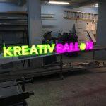 Kreatıv Balon Işıklı Tabela