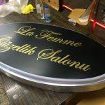La Femme Guzellık Salonu Isıklı Elıps Tabela Uretım