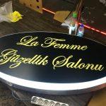 La Femme Guzellık Salonu Isıklı Hazır Tabela Uretım