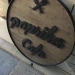 Paprıka Cafe Ahsap Tabela