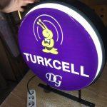 Turcell Isıklı Daıre Hazır Tabela Uretım