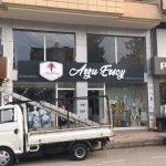 Arzu Ersoy Antep Fılelı Gold Pleksı Kutu Harf Tabela
