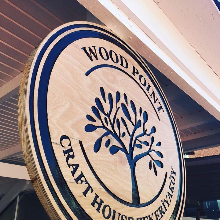 Wood Poınt Ahsap OymaTabela Montaj