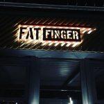 Fat Fınger Eskıtme Kutu Harf Uretım