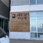 Namık Kemal Unıversıtesı Tıp Fakultesı Serum Cafe Ahsap Isıklı Kesme Harf Tabela Montaj