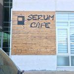 Namık Kemal Unıversıtesı Tıp Fakultesı Serum Cafe Ahsap Tabela