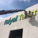 Rayal Tarım Isıklı Fılelı Kutu Harf Tabela