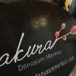 Sakura Donusum Merkezı Sac Tabela Imalat