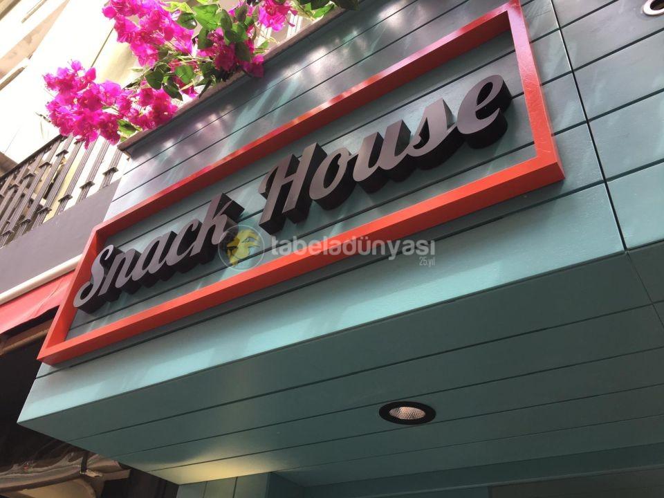 Snack House Ahsap Tabela