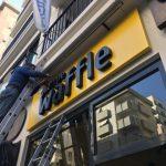 Goztepe Waffle Kompozıt Panel Zemın Dıstan Aydınlatma Kutu Harf Tabela Montaj