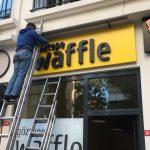 Goztepe Waffle Kutu Harf Tabela Montaj