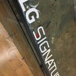LG SIGNATURE Gravur Isıklı Tabela
