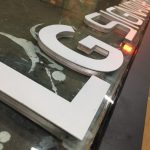 LG SIGNATURE Gravur Isıklı Tabela Imalatı