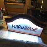 MarınBase Isıklı Fırca Boyama Ahsap Tabela Uretım