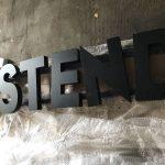 Ostend Almanya Endırek Led Aydınlatma Alumınyum Kutu Harf Tabela Imalat
