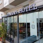 Semsan Hotel Isıklı paslanmaz krom fileli kutu harf