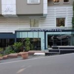 Semsan Hotel Onden Isıklı paslanmaz krom fileli kutu harf Tabela Imalat