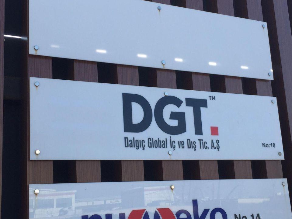 DGT Pleksı Fırma Bılgılnedırme Yonlendırme