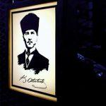 Ataturk Kosesı Mini Light Box Imalat