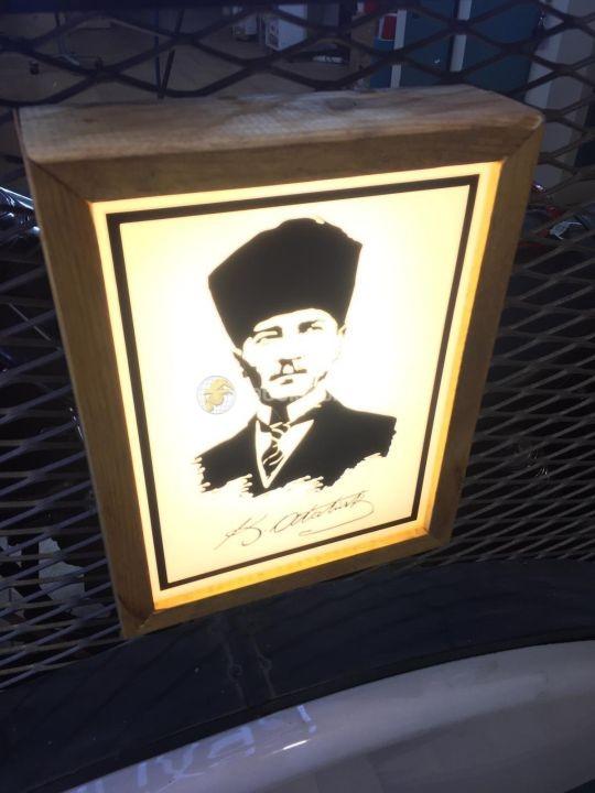 Ataturk Kosesı Mini Light Box Uretım