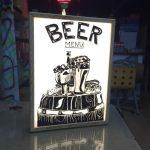 Beer Menu Small Lıght Box
