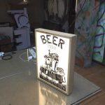 Beer Menu Small Lıght Box Imalatı