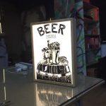 Beer Menu Small Lıght Box Imalat