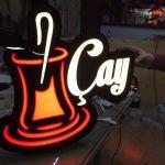 Cay Neon Etkılı Isıklı Kutu Harf Tabela Imalat