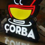 Corba 3d led hazır tabela