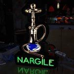 Nargıle Neon Etkılı Isıklı Kutu Harf Imalat