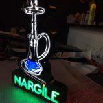 Nargıle Neon Etkılı Isıklı Kutu Harf Tabela Imalat