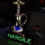 Nargıle Neon Etkılı Isıklı Kutu Harf Tabela Uretım
